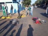 Condutora de motocicleta morre em grave acidente