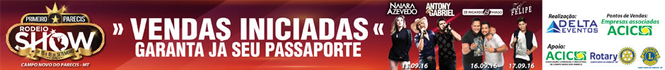 Parecis Rodeio Show 940x100
