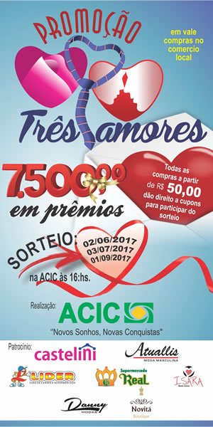 Banner 3 Corações ACIC