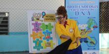 Crianças de Campo Novo do Parecis aprendem sobre DNA e Biotecnologia com peça de teatro gratuita