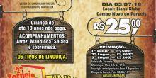 Lions e Leo Clube realizam 1º Festival da Linguiça em Campo Novo do Parecis