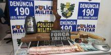 PM de Campo Novo do Parecis prende seis por tráfico de drogas
