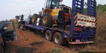 PM recupera carreta com pá carregadeira roubada em Campo Novo