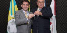 Rafael Machado recebe chaves da prefeitura de Campo Novo do Parecis