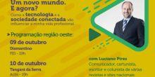 Circuito Aprosoja Universitário trará palestra de Luciano Pires para Campo Novo do Parecis