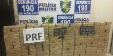 PM e PRF apreendem mais de 130 Kg de drogas em Campo Novo do Parecis