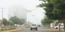 Campo Novo do Parecis amanhece com densa neblina