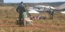 Bimotor que decolou de Campo Novo do Parecis com 500 kg cocaína é interceptado em GO