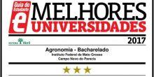 Curso de Agronomia do IFMT de Campo Novo do Parecis é estrelado pelo Guia do Estudante da Editora Abril
