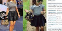Paris Hilton publica foto de menina de 2 anos moradora de Sapezal, que copia estilo de famosas