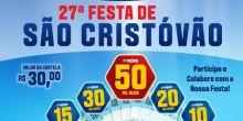 Igreja Matriz divulga programação da 27ª Festa de São Cristóvão em Campo Novo do Parecis