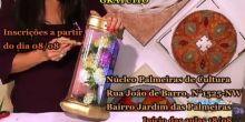 Aberta inscrições para curso gratuito de pintura de telhas no Núcleo Palmeiras de Cultura