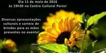 Noite Cultura das Mães será realizada hoje no Centro Cultural Paresí