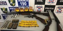 Sargento é preso suspeito de comércio ilegal de armas de fogo em Campo Novo
