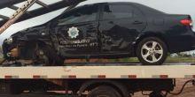 Veículo da Câmara de Campo Novo do Parecis fica parcialmente destruído após acidente