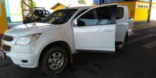 PRF de Pontes e Lacerda recupera caminhonete roubada em Campo Novo do Parecis