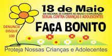 Dia 18 de Maio - Dia nacional de combate ao abuso e a exploração sexual infantil