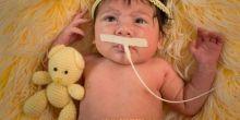 Bebê que nasceu após morte da mãe deixa hospital e ganha ensaio em Rondonópolis