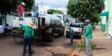 Prefeitura realiza operação Tapa Buracos em Campo Novo do Parecis