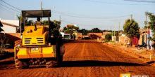 Etapa de pavimentação deixará bairro Jardim Alvorada 100% asfaltado