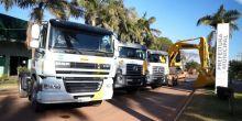 Através de recursos do FETHAB, prefeitura de Campo Novo do Parecis adquire 4 máquinas 0 km