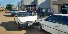 Sem habilitação e embriagado, motorista causa acidente em Campo Novo do Parecis