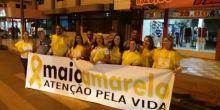 Entidades realizam ação para conscientização no trânsito de Campo Novo do Pareis