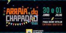 """""""Arraiá do Chapadão"""" é atração para este final de semana em Campo Novo do Parecis"""