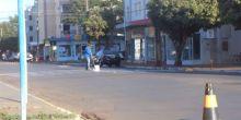 Faixas de pedestre são repintadas em avenida de Campo Novo do Parecis