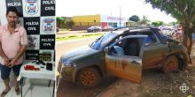 Mulher e amante planejaram morte de homem baleado com tiros de 12 em Campo Novo